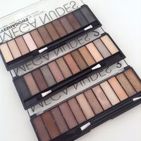 ТЕНИ/ПАЛЕТКА/НАБОР ТЕНЕЙ для век Technic Mega Nudes 3 Eyeshadows