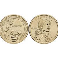 США 1 доллар, 2017 Секвойя P