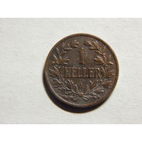 Германия Немецкая Ост Африка 1 геллер 1913г