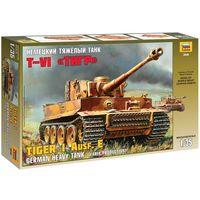 ЗВЕЗДА 3646 - Немецкий танк ТИГР VI / Сборная модель 1:35