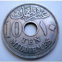 Египет (Британский протекторат). 10 миллим 1916 г.