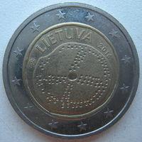 Литва  2 евро 2016 г. Балтийская культура