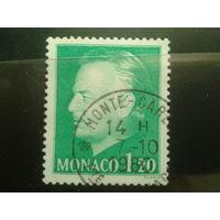 Монако 1974 князь Ренье 3  1,2фр Михель-2,0 евро гаш