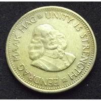 Южная африка. 1\2 цента 1962