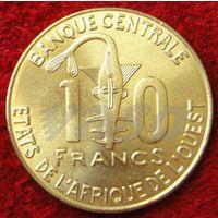 7659:  10 франков 2008 Западная Африка