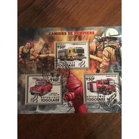 Того 2011. Пожарные машины. Малый лист