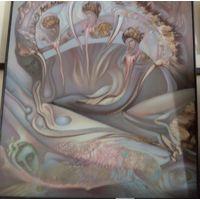 Большая картина художника А. Исаченкова