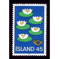 1 марка 1977 год Исландия 521