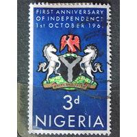 Нигерия. 1961 г. Герб.