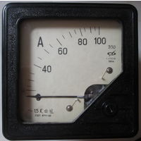 Амперметр щитовой 100А