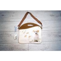 Классная сумка для ноутбука + мышка