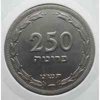 """Израиль 250 прут 1949 """"Три овсяных колоска"""""""