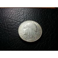 10 злотых 1932 с 1р без минималки