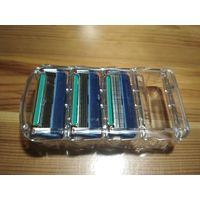 Станок для бритья Gillette Fusion + 3 новых лезвия + пена