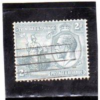 Тринидад и Тобаго. Mi:TT 107. Британния и король Георг V. 1922.