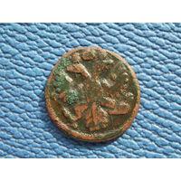 Полушка 1735 С 1 рубля.