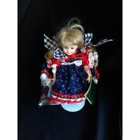 Кукла фарфоровая 1996 год, Pittsburgh Originals, 20см высота, музейное состояние