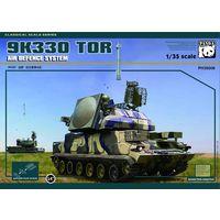 Russian TOR-M1 Missile System ЗРК 9K330, сборная модель 1/35 Panda Hobby 35008