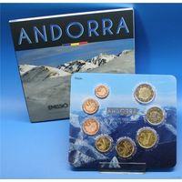 Андорра официальный годовой набор евро 2014 BU (8 монет)