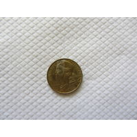 5 сантимов 1987 Франция KM# 933 алюминиевая бронза