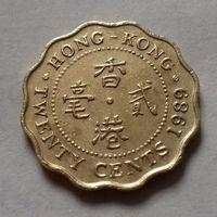 20 центов, Гонконг 1989 г.