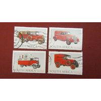 ЮАР 1999г. 125-летие Всемирного почтового союза - классические транспортные средства