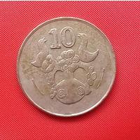 54-35 Кипр, 10 центов 1994 г.