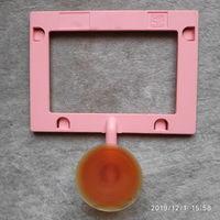 Рамка-держатель на присоске 10*7 см