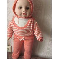 Кукла большая,можно сказать огромная, часть из резины СССР.