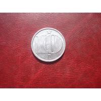 10 геллеров 1986 год Чехословакия
