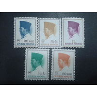 Индонезия 1966 президент Сукарно