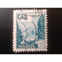Марокко 1952 стандарт, птицы