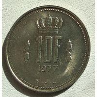 Люксембург 10 франков, 1977 4-16-3