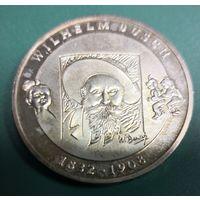 Германия 10 евро (буква F,еребро