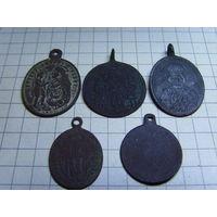 Медальоны.медалики.12 шт.