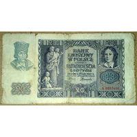 20 злотых 1940г.