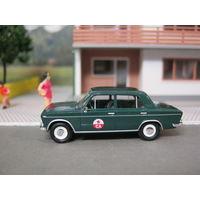 Модель автомобиля ВАЗ 2103 (СА) BUSCH. Масштаб НО-1:87.