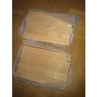Дубовый паркет Радиал (остатки) Лясковичи. НОВЫЙ 400*50 мм