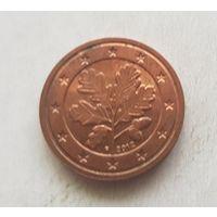 2 евроцента 2012 Германия F