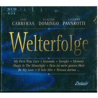 3CD Box-set Carreras, Domingo, Pavarotti - Welterfolge