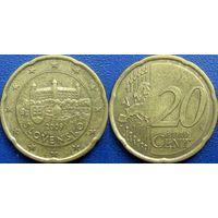 Словакия, 20 евроцентов 2009 года