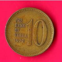 12-25 Южная Корея, 10 вон 1972 г.