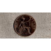 Великобритания 1 пенни 1897 //(JJ)