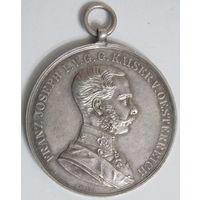 Медаль Franz Joseph I. кайзер австрийский.