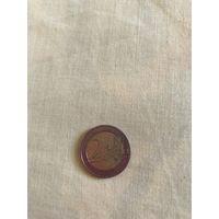 2 евро Франция 1999г