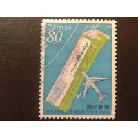 Япония 1994 Боинг 747-400 в полете