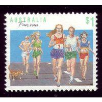 1 марка 1990 год Австралия Бег 1186