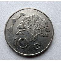 10 центов Намибия 1998 года - из коллекции