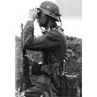 Куплю ремень (новодел) тактический (транспортировочный) на каску Вермахта.