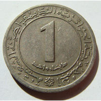Алжир 1 динар 1972 г
